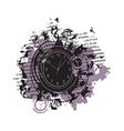 Wheel of Zodiac symbols vector image