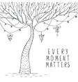 tree magic sketch vector image vector image