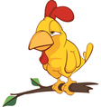 Cockerel Cartoon vector image vector image