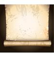 antique parchment vector image