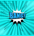 comic book bright page template vector image