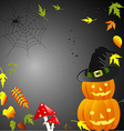 for Halloween vector image
