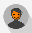 Halloween Avatar Icon vector image