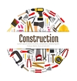 Repair or construction tools or instruments banner vector image