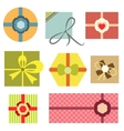 collection of present boxes vector image