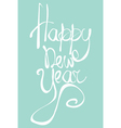 Happy new Year Universal greeting card for holiday vector image