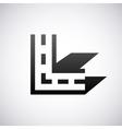 logo for letter L Design template vector image