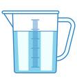 Measuring jug vector image