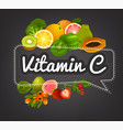 vitamin banner image vector image