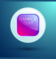 web business template vector image