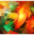 Colorful abstract mosaic mottled background vector image vector image