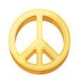 the icon of the worldhippy single icon in cartoon vector image