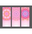 Set of geometric creative banners vector image