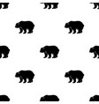canadian brown bear canada single icon in black vector image