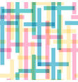 cross seamless pattern vector image