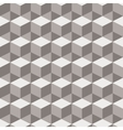 Seamless abstract pattern of squares vector image