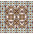 Seamless pattern white Turkish Moroccan vector image