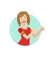 Support Emotion Body Language vector image