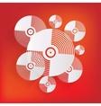 Music vinyl disk iconflat design vector image