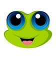 avatar of a frog vector image