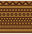 brown mexican pattern vector image