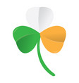 irish clover icon vector image