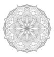 Mandala Oriental decorative element vector image
