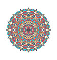 round mandalas in graphic template for vector image