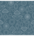 seamless diamond pattern 2 vector image