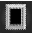 frame in white color for your design vector image vector image