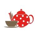 Tea Icons vector image