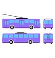 Trolleybus vector image