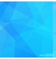 Abstract blue polygonal background with halftone vector image