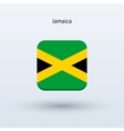 Jamaica flag icon vector image