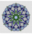 mandala on transparent background vector image
