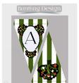 Bunting design - Tree from Wonderland vector image