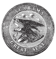 Alabama State Seal vector image vector image