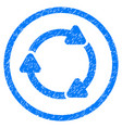 rotate cw rounded grainy icon vector image