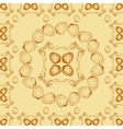 Seamless textures with hop floral ornament vector image