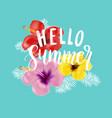 romantic vintage floral card vector image vector image