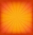 orange burst grunge background vector image