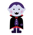 Vampire boy vector image