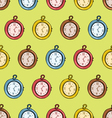 Clocks Seamless Pattern vector image vector image