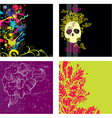 set of backgrounds2 vector image vector image
