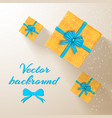 greeting invitation poster vector image
