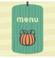 outline pumpkin icon modern infographic logo vector image
