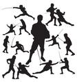 Fencing vector image