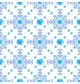 Seamless floral background Isolated blue flowers vector image