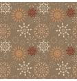 Christmas seamless pattern Light and dark vector image