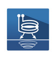 eddy current pictogram vector image